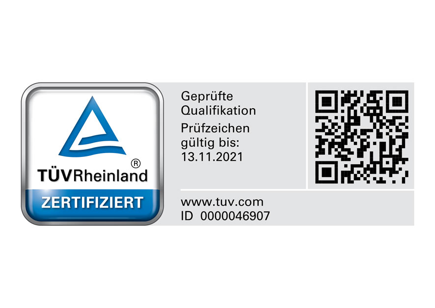 TÜV Logo Externer Datenschutzbeauftragter und Datenschutzauditor